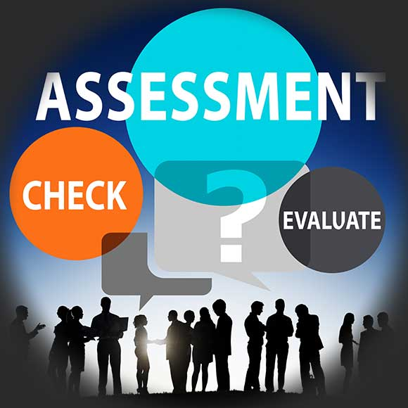 assessment check evaluate